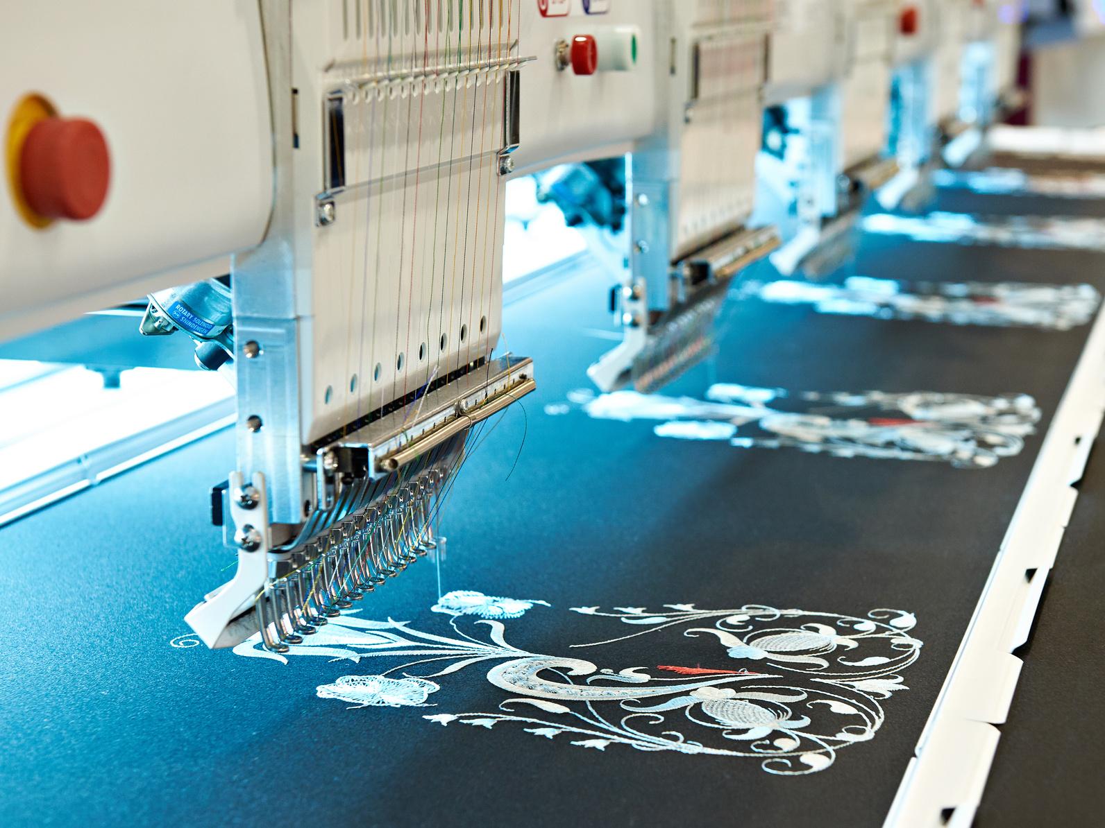 Maszyna wykonująca haft