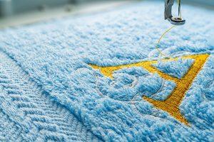 Haftowanie komputerowe ręcznik