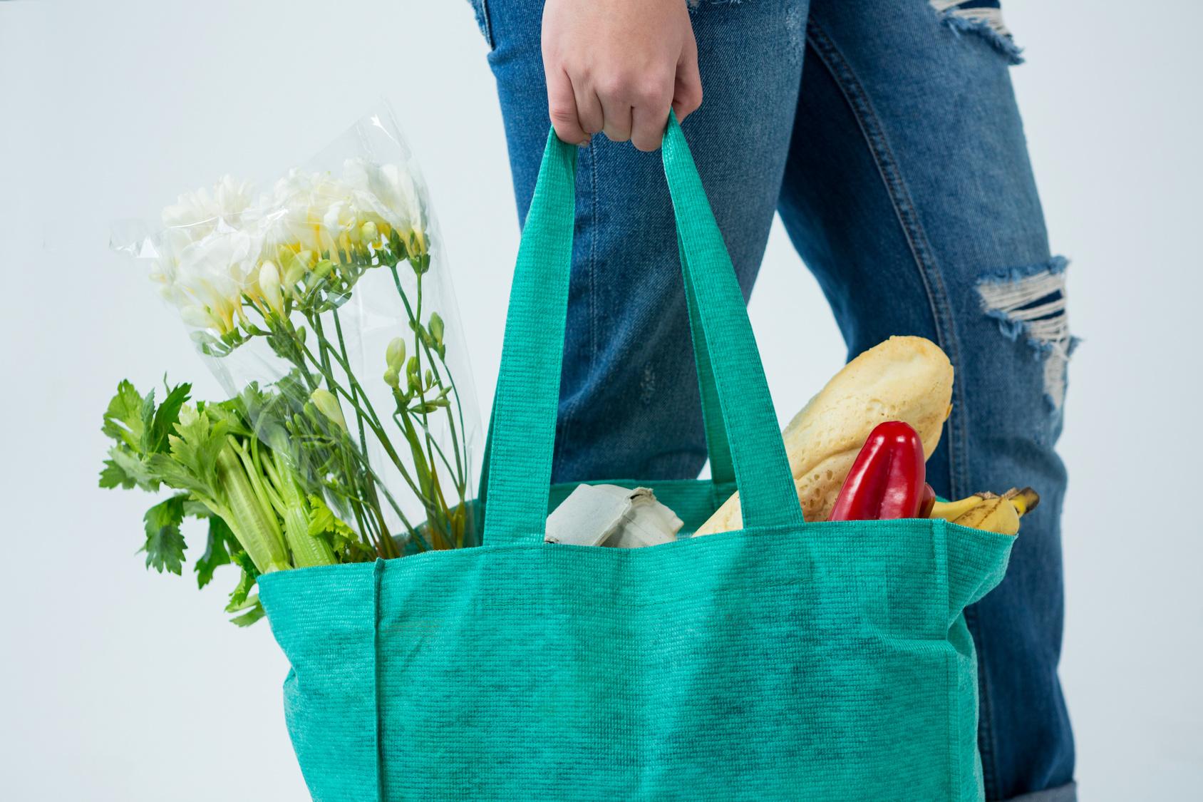 torba bawełniana na zakupy