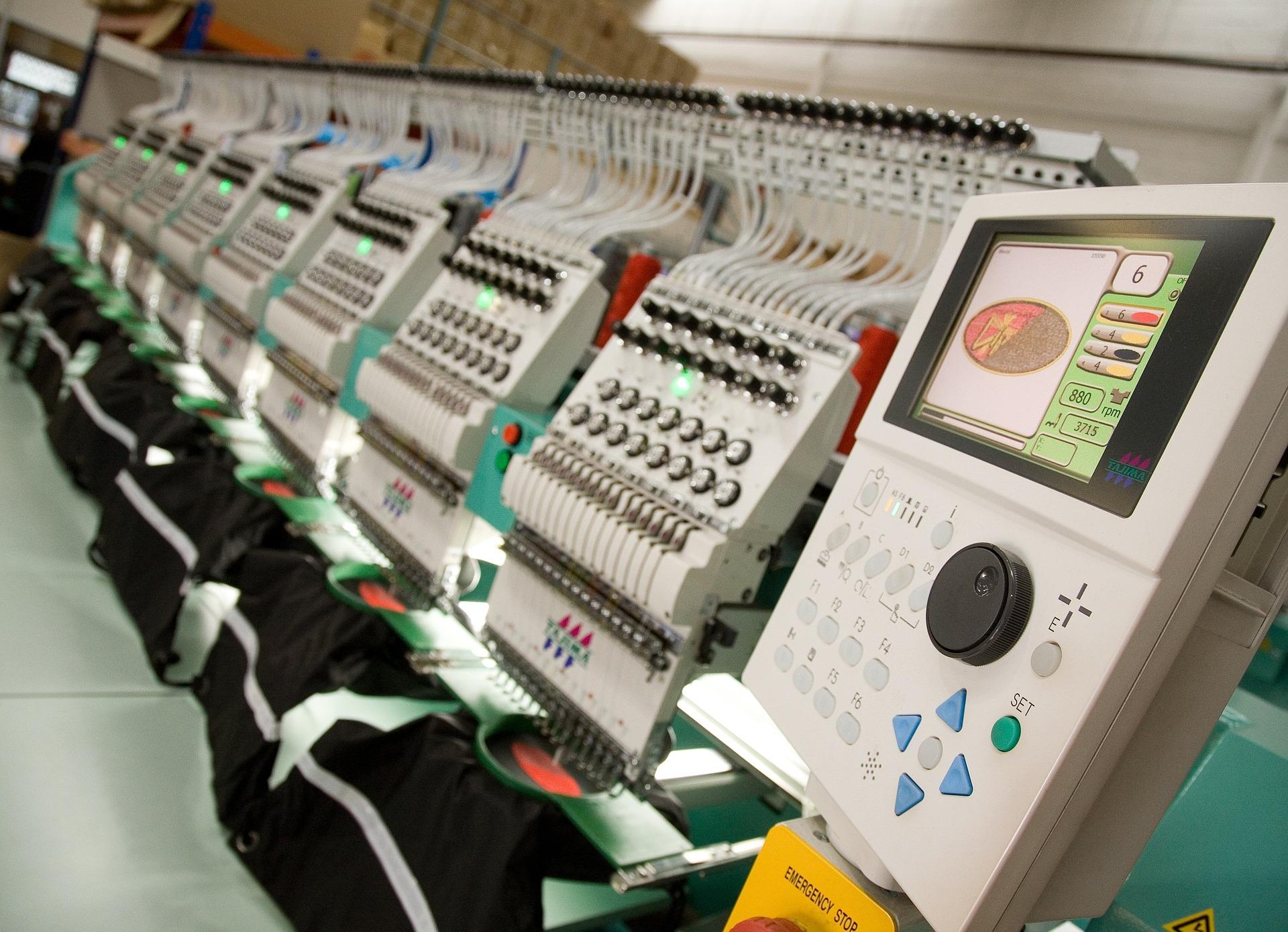 Maszyny do haftu komputerowego